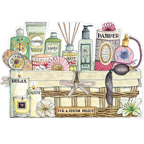 Pamper Basket (A192) by Amanda Loverseed