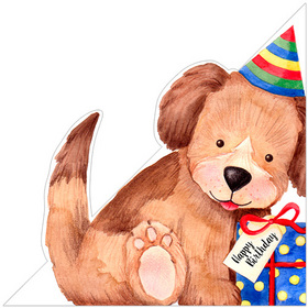 Birthday Puppy Greeting Card Code: LS92