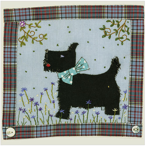 Scottie Dog Greeting Card Code: WS482