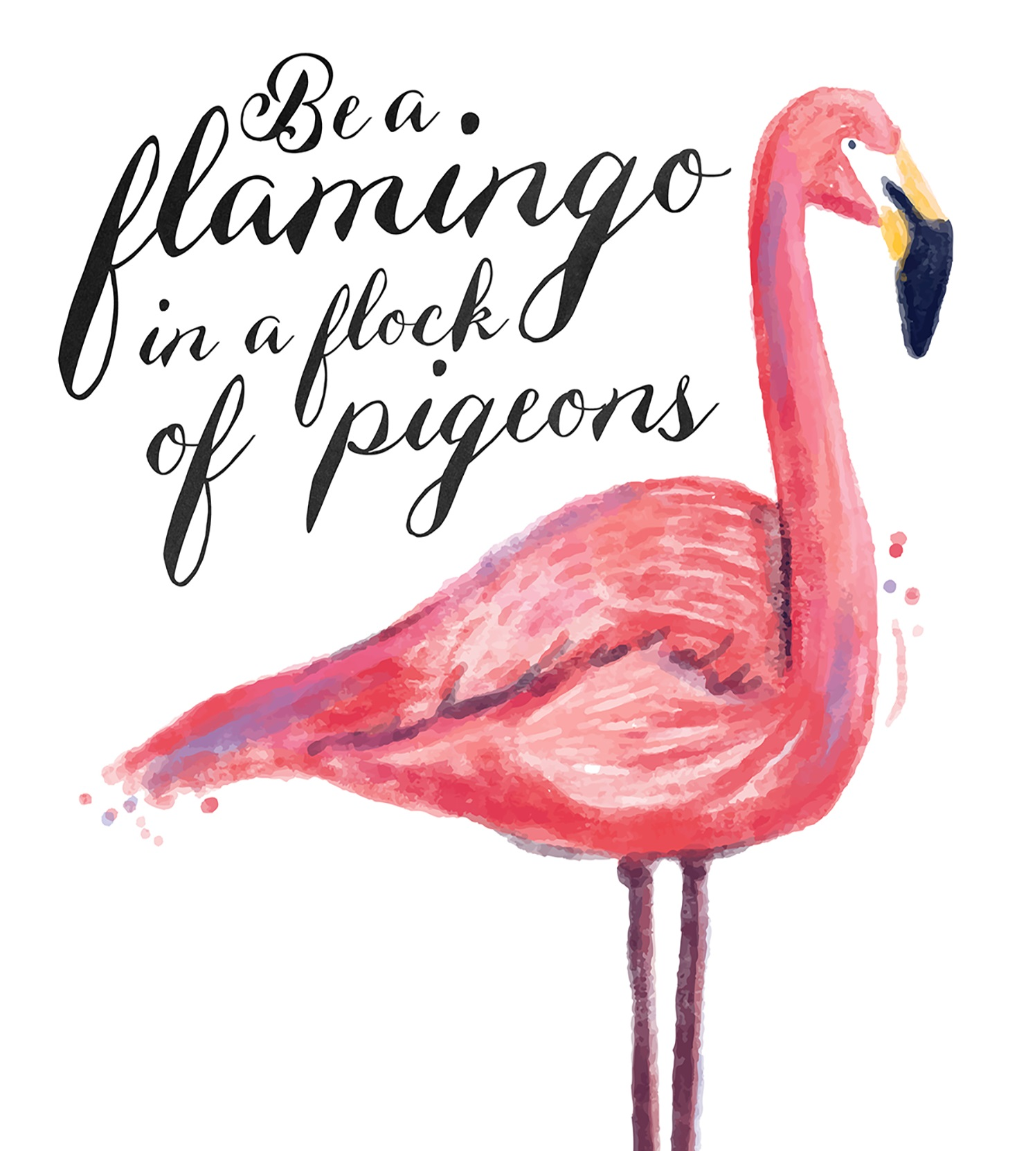 Flamingo Paperie from the old Phoenix Trading rises Phoenicopterus