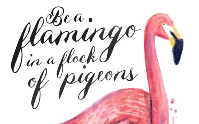 Flamingo Paperie: From the old Phoenix rises a new pink bird!