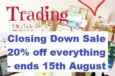 PHOENIX TRADING CLOSING DOWN – Save 20% – ends 15th August