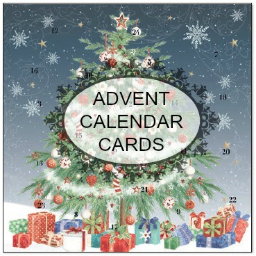 Where can I buy mini advent calendar cards?
