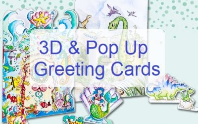 3D Pop Up Cards UK – Pay just £2 a card, buy 10 and save 20%