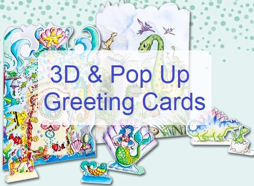 3D Pop Up Cards UK Pay Just GBP2 A Card Buy 10 And