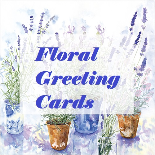 Birthday Cards with Flowers on, Floral Greeting Cards & Flower Cards