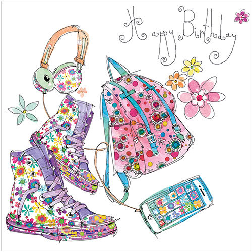 16th Birthday Card S284 Birthday Backpack