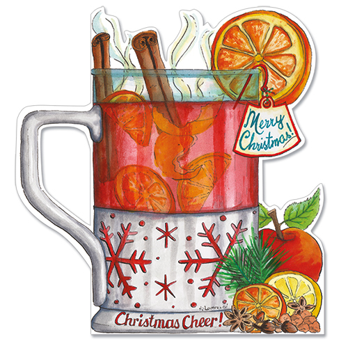 Mulled Wine Christmas Cheer Card