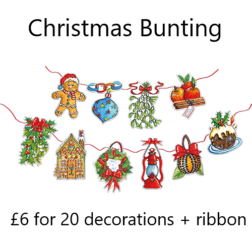 Christmas Decorative Bunting