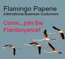 Flamingo paperie international business customer