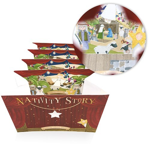 Nativity Story Christmas Card