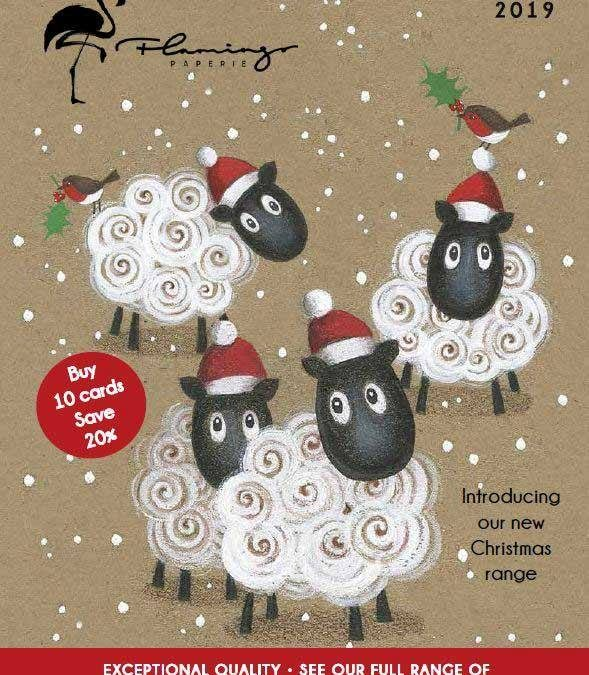 Flamingo Paperie Christmas range for 2019